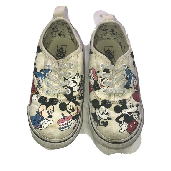 Vans 9th Mickey Mouse Anniversary Sz